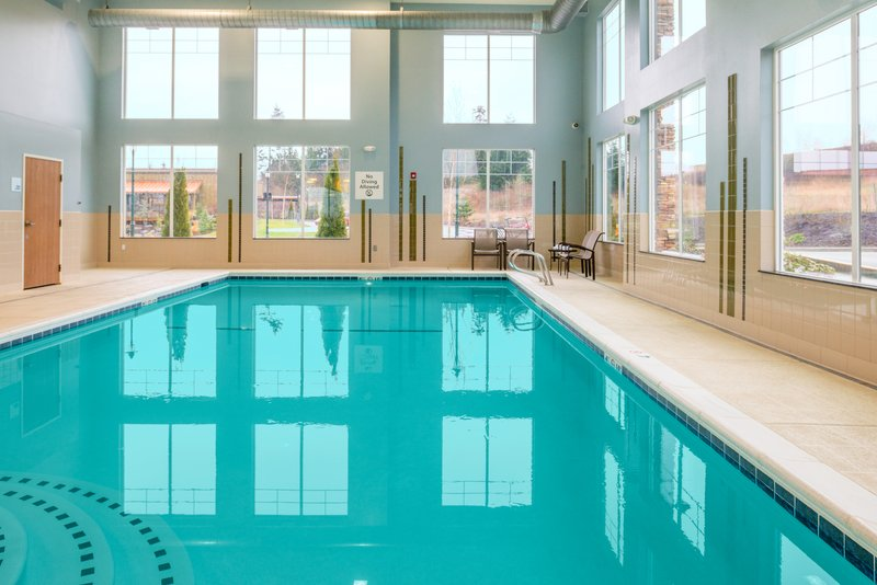 Holiday Inn Express Hotel & Suites North Sequim-Swimming Pool<br/>Image from Leonardo