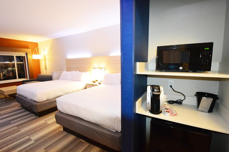 Holiday Inn Express & Suites Toledo South - Perrysburg-All room types include microwave, Keurig and mini fridge <br/>Image from Leonardo