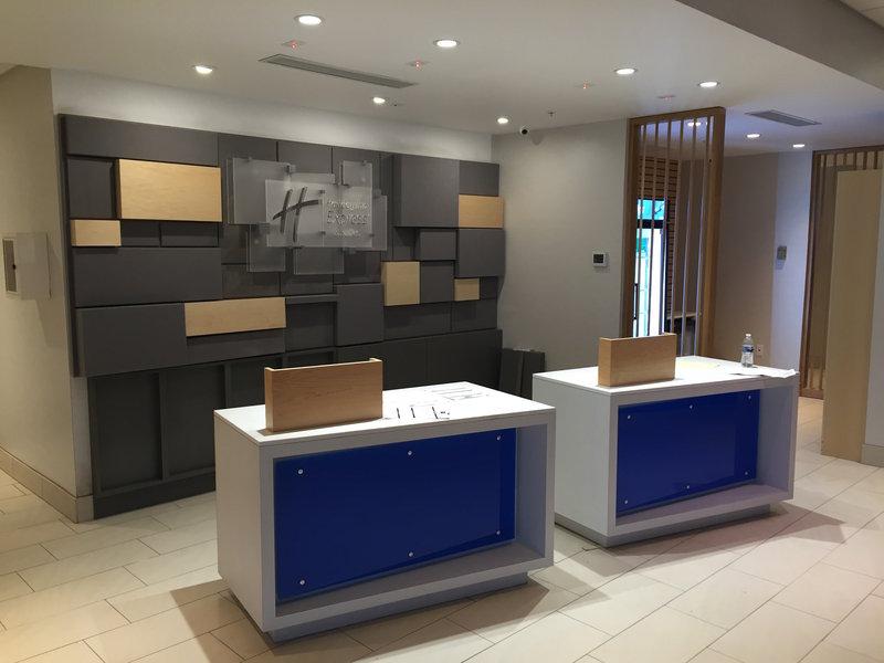 Holiday Inn Express & Suites Toledo South - Perrysburg-Front Desk<br/>Image from Leonardo