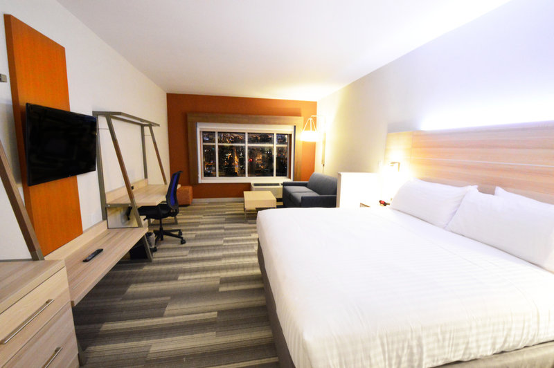 Holiday Inn Express & Suites Toledo South - Perrysburg-King Suite w/ Living Area couch that pulls out into a bed<br/>Image from Leonardo