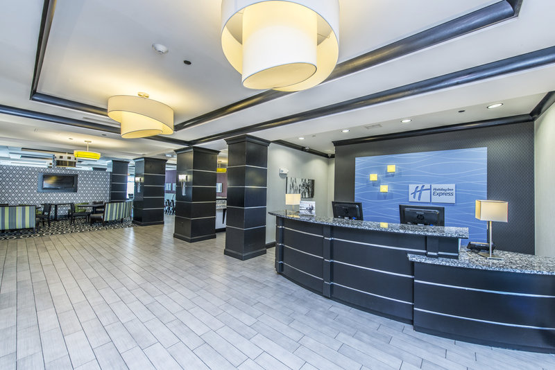 Holiday Inn Express Hotel & Suites Charleston Apt-Conv Ctr-Our friendly staff will great  you upon arrival for your stay.<br/>Image from Leonardo