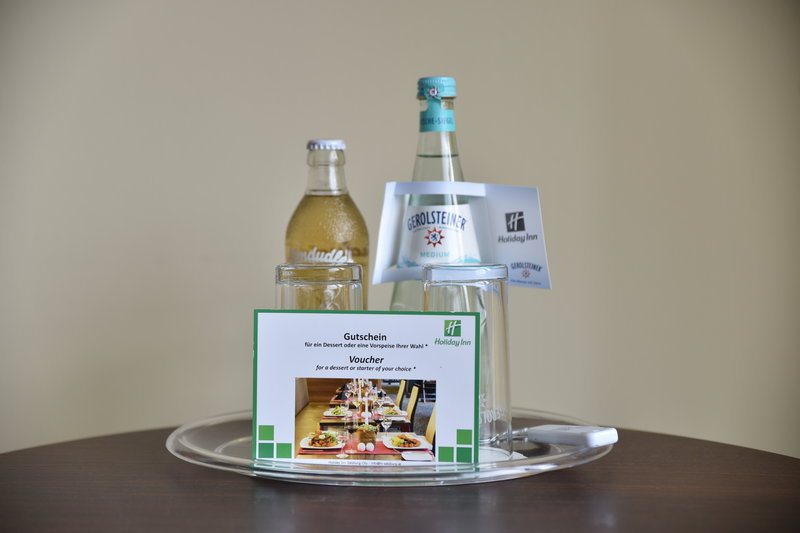 Holiday Inn Salzburg City-Upon arrival a restaurant voucher awaits you in your room<br/>Image from Leonardo