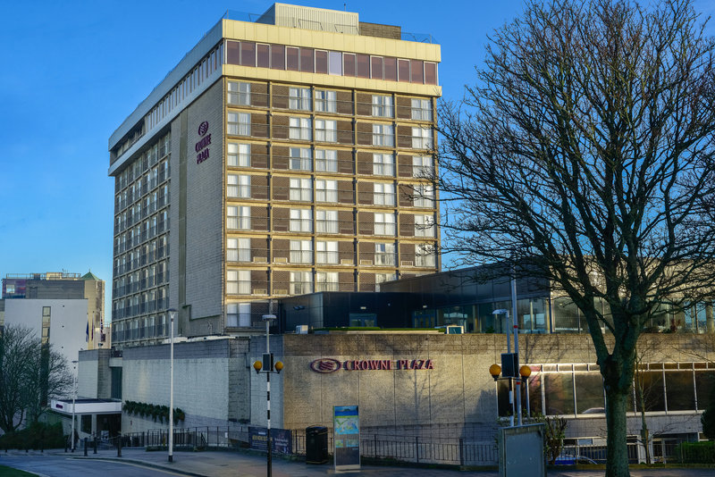 Crowne Plaza Plymouth-deally located in the city centre and short walk to the seafront<br/>Image from Leonardo