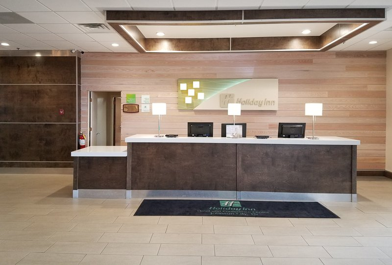 Holiday Inn Johnson City-Take advantage of the hotel's express check in/out service.<br/>Image from Leonardo