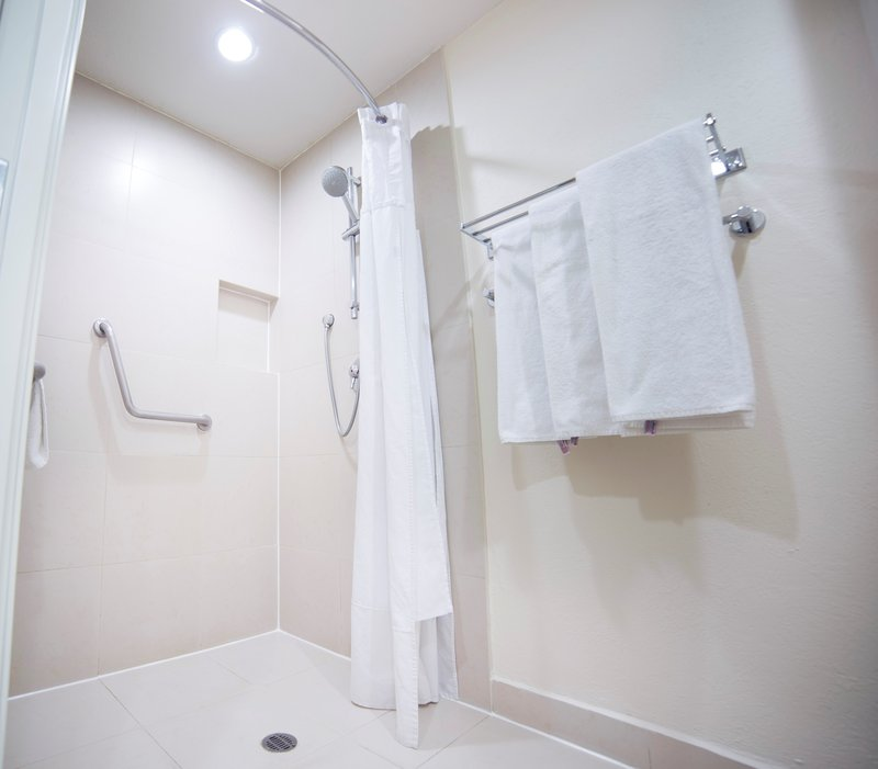 Holiday Inn Express Guadalajara Expo-Handicapped Room bathroom Photo<br/>Image from Leonardo