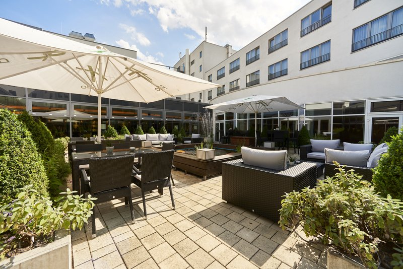 Holiday Inn Berlin Airport - Conf Centre-Guest Patio<br/>Image from Leonardo