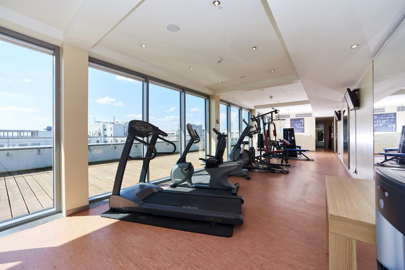 Berlin Airport Conference Centre-Gym<br/>Image from Leonardo