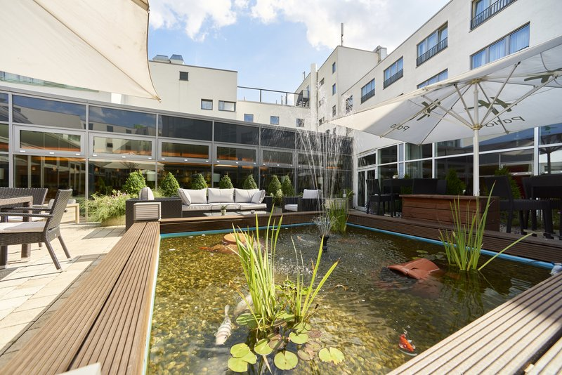 Berlin Airport Conference Centre-Guest Patio<br/>Image from Leonardo