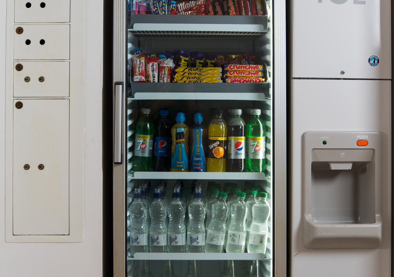 Holiday Inn Express Newcastle City Centre-Feeling peckish? Grab a snack from our vending fridge<br/>Image from Leonardo