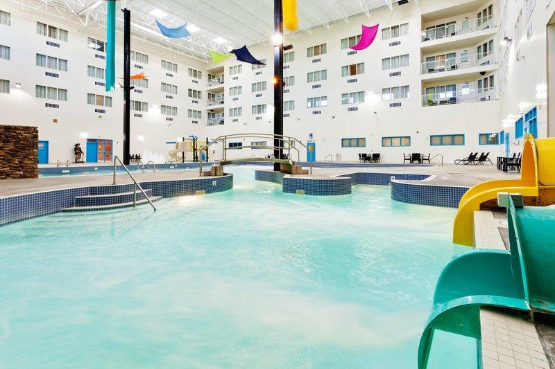 Holiday Inn Lethbridge-Take a tube down the Water Slide<br/>Image from Leonardo