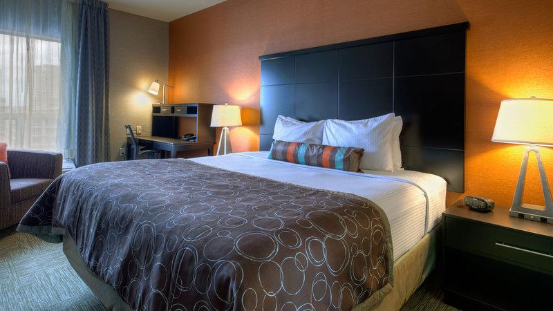 Staybridge Suites Hamilton - Downtown-Suite Bedroom<br/>Image from Leonardo