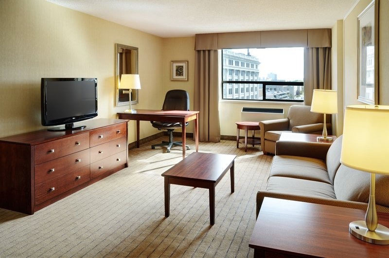 Holiday Inn Hotel & Suites Winnipeg-Downtown-Relax in the living area in our suites!<br/>Image from Leonardo