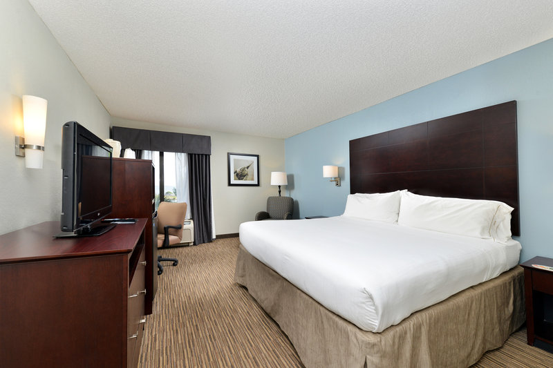 Holiday Inn Express & Suites Tampa/Rocky Point Island-Beautiful King Standard Room with Free WIFI  <br/>Image from Leonardo
