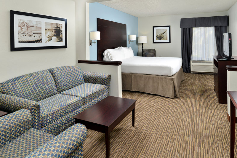 Holiday Inn Express & Suites Tampa/Rocky Point Island-Our spacious suites offer Sofa Bed and Free WIFI <br/>Image from Leonardo