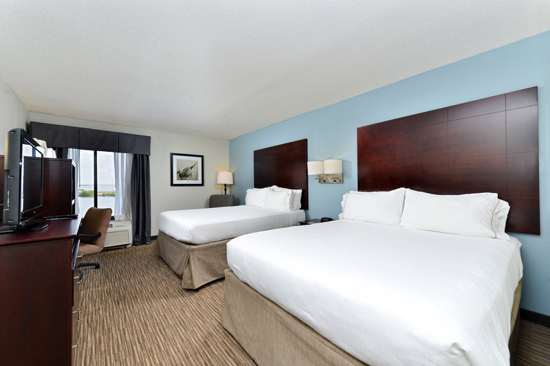 Holiday Inn Express & Suites Tampa/Rocky Point Island-Double Bed Guest Room with Modern Decor <br/>Image from Leonardo