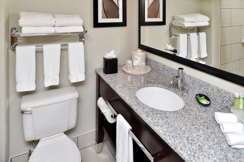 Holiday Inn Express & Suites Tampa/Rocky Point Island-Guest Bathroom<br/>Image from Leonardo