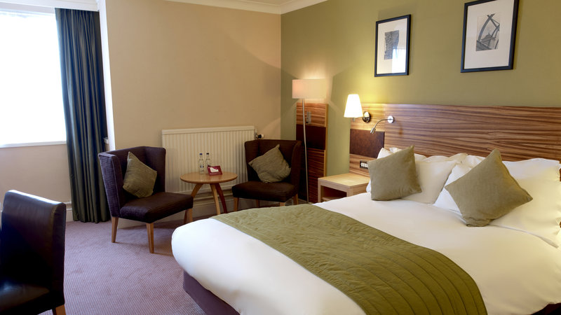 Crowne Plaza Chester-Standard Double Bed Guest Room on 1st and 2nd floors<br/>Image from Leonardo