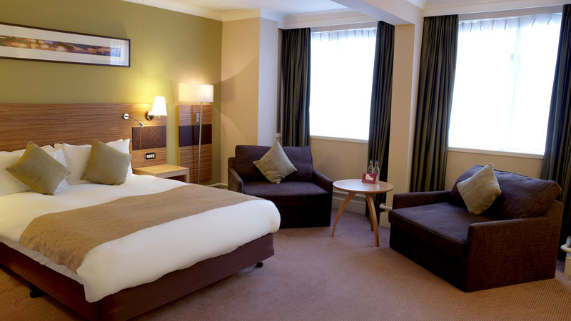 Crowne Plaza Chester-Standard Accessible Double Bed Guest Room (one double bed)<br/>Image from Leonardo