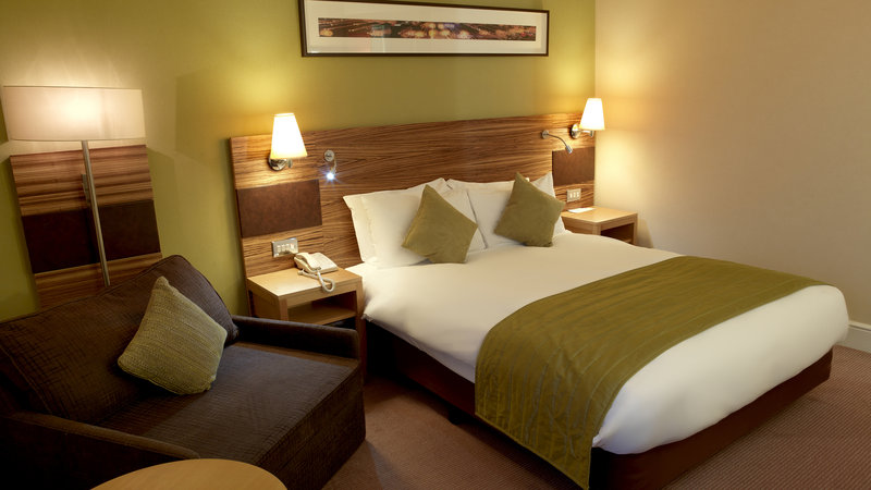 Crowne Plaza Chester-Standard Double Bed Guest Room (with sofa chair for child u15)<br/>Image from Leonardo