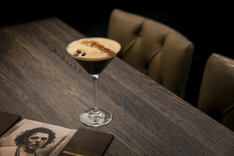 Crowne Plaza Plymouth-Espresso Martini at Marco's Bar<br/>Image from Leonardo