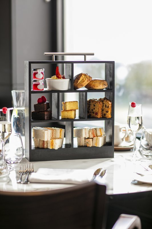 Crowne Plaza Plymouth-Afternoon Tea in Marco's restaurant<br/>Image from Leonardo
