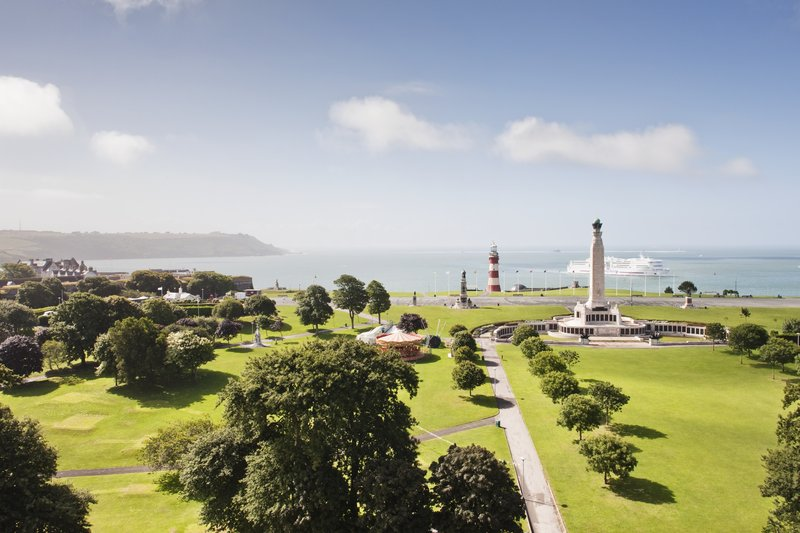 Crowne Plaza Plymouth-View from Hotel<br/>Image from Leonardo