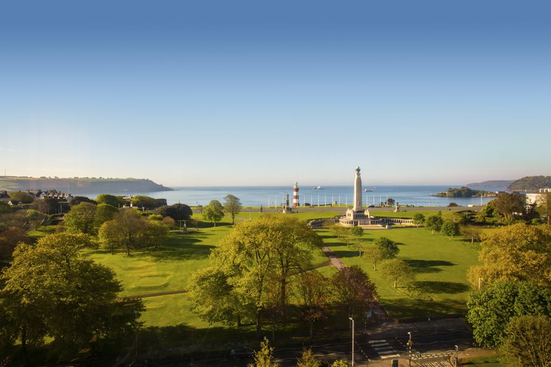 Crowne Plaza Plymouth-The view from Marco's restaurant<br/>Image from Leonardo