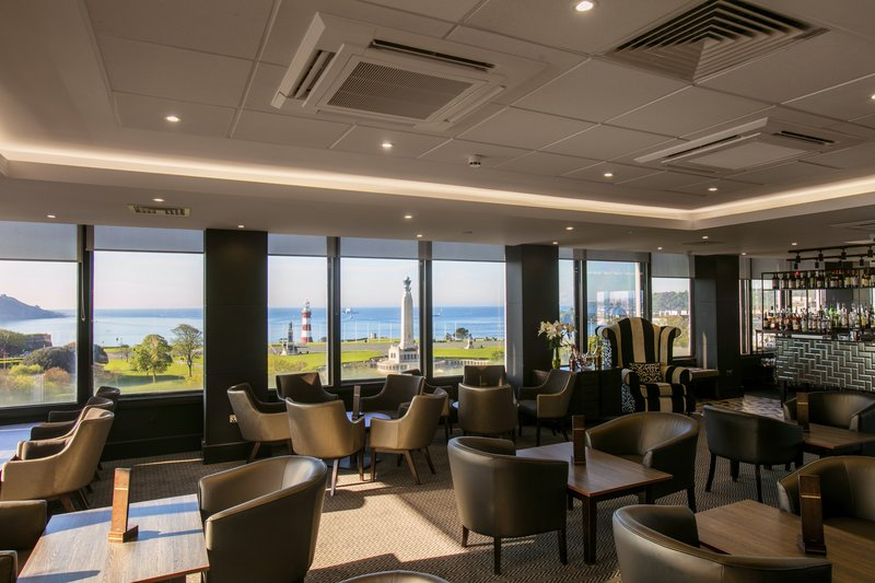 Crowne Plaza Plymouth-Sea views from Marco's restaurant<br/>Image from Leonardo