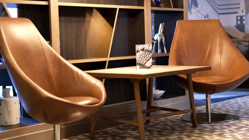 Crowne Plaza Plymouth-Take a seat in one of snug chairs<br/>Image from Leonardo