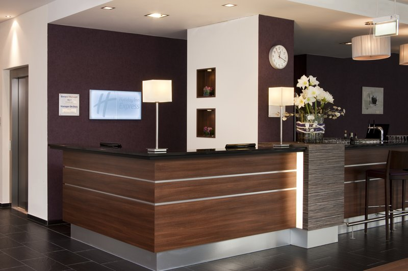 Holiday Inn Express Guetersloh-Our Holiday Inn Express Front Desk<br/>Image from Leonardo