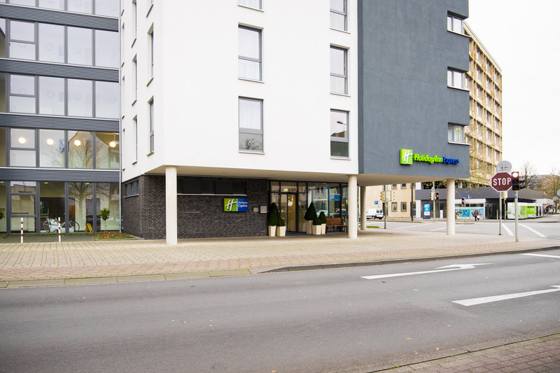 Holiday Inn Express Guetersloh-The view of the Hotel.<br/>Image from Leonardo
