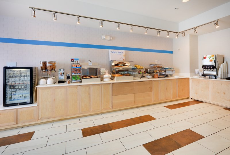 Holiday Inn Express & Suites Burleson/Ft. Worth-Breakfast Bar <br/>Image from Leonardo