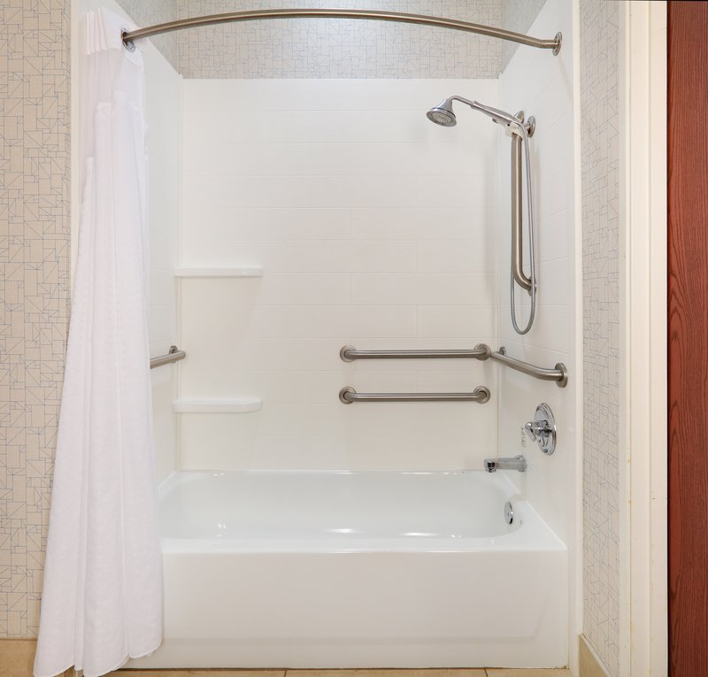 Holiday Inn Express & Suites Burleson/Ft. Worth-ADA Guest Bathroom <br/>Image from Leonardo