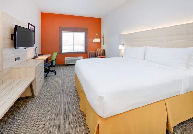 Holiday Inn Express & Suites Burleson/Ft. Worth-1 King Bed Guest Room <br/>Image from Leonardo
