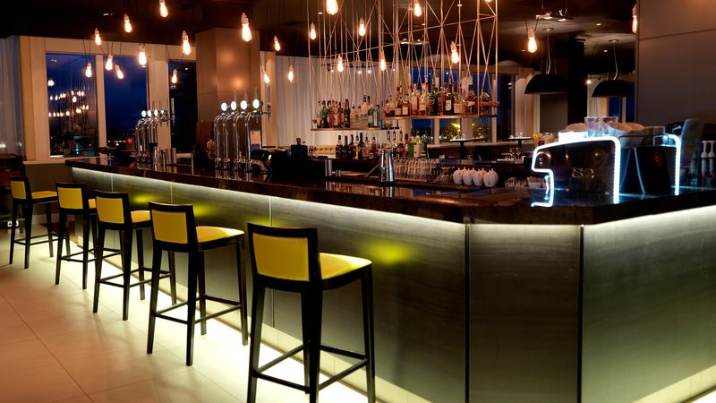 Crowne Plaza Chester-Stables Bar & Grill at night<br/>Image from Leonardo