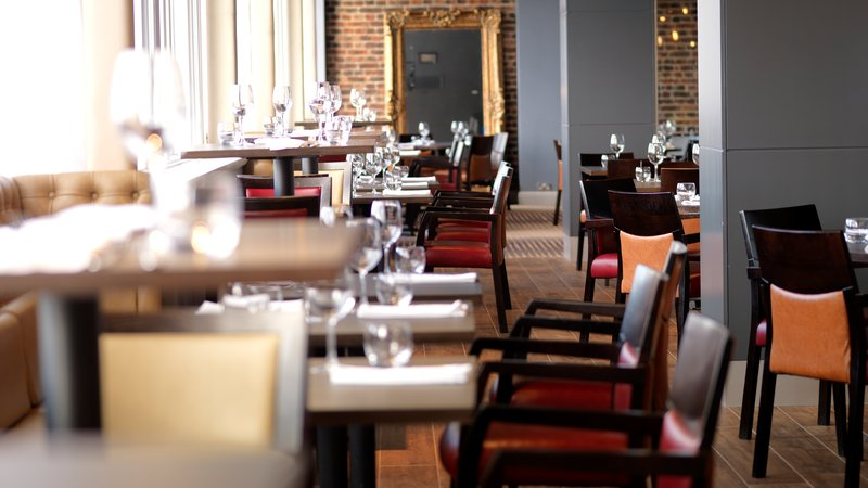 Crowne Plaza Chester-Stables Bar & Grill Restaurant, stylish light and exciting<br/>Image from Leonardo