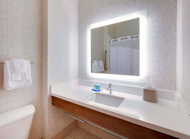 Holiday Inn Express & Suites Burleson/Ft. Worth-Guest Bathroom <br/>Image from Leonardo