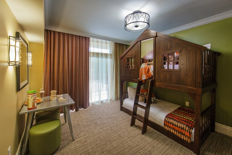 Holiday Inn Club Vacations Gatlinburg-Smoky Mountain Resort-Enjoy the bunk beds found in our 4 bedroom Signature Collection <br/>Image from Leonardo