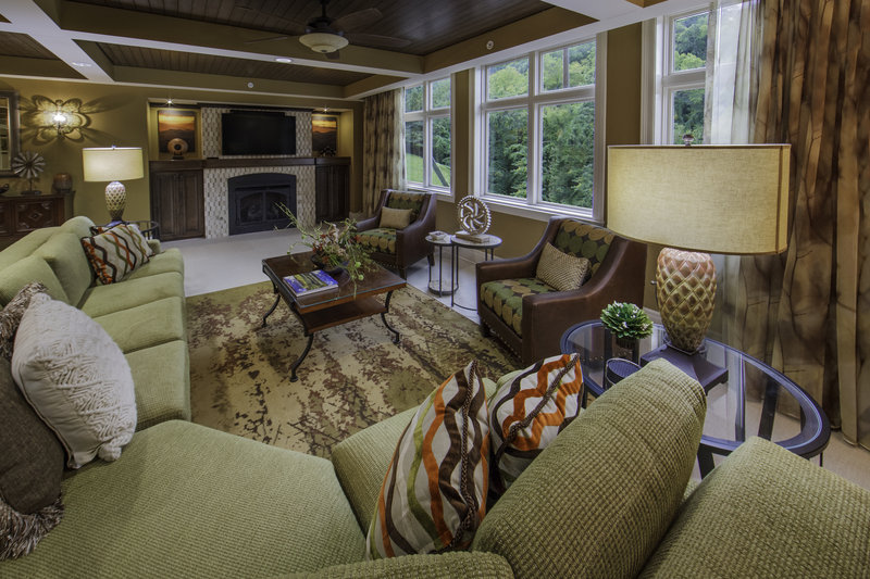Holiday Inn Club Vacations Gatlinburg-Smoky Mountain Resort-Luxurious comforts of a Signature Collection living room<br/>Image from Leonardo