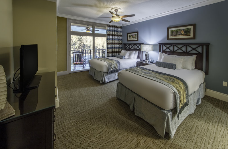 Holiday Inn Club Vacations Gatlinburg-Smoky Mountain Resort-Spacious Signature Collection guest bedroom<br/>Image from Leonardo