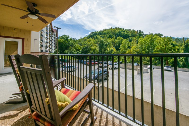 Holiday Inn Club Vacations Gatlinburg-Smoky Mountain Resort-Enjoy the view from a private Signature Collection private balcony<br/>Image from Leonardo