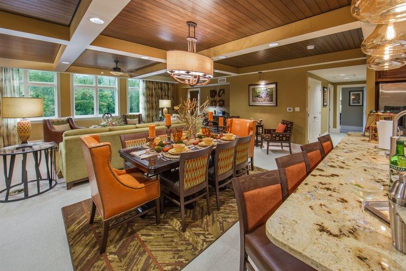 Holiday Inn Club Vacations Gatlinburg-Smoky Mountain Resort-Beautiful and spacious Signature dining room table <br/>Image from Leonardo