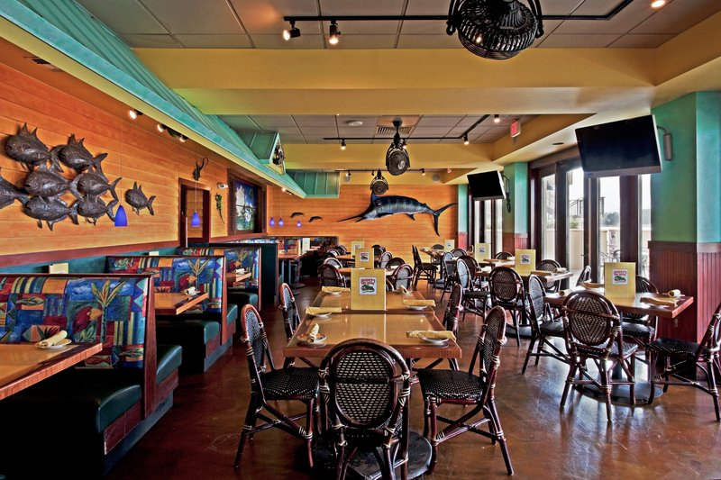 HOLIDAY INN HOTEL AND SUITES CLEARWATER BEACH-Jimmy's Fish House serving breakfast, lunch and dinner<br/>Image from Leonardo