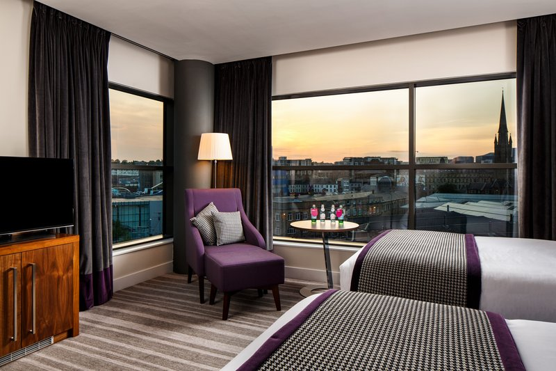 Crowne Plaza Newcastle - Stephenson Quarter-Club Room Two Double Beds<br/>Image from Leonardo