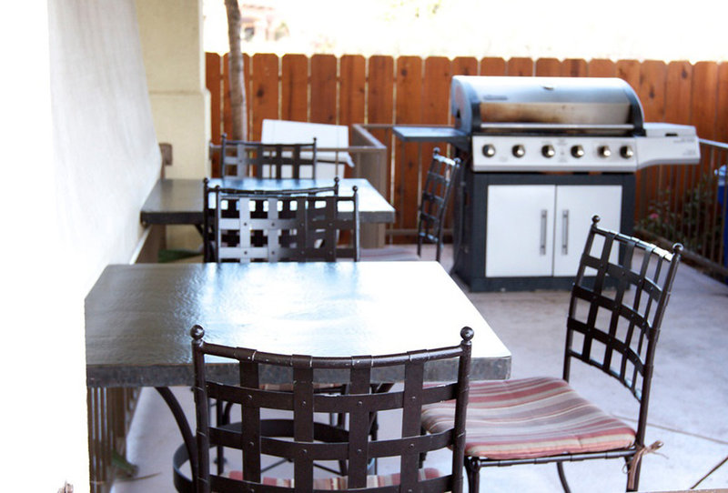 Candlewood Suites Santa Maria-Guest Patio and BBQ Gazebo<br/>Image from Leonardo