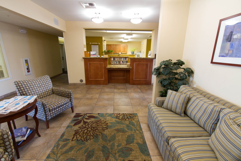 Candlewood Suites Santa Maria-Comfy lobby and friendly front desk await your arrival<br/>Image from Leonardo