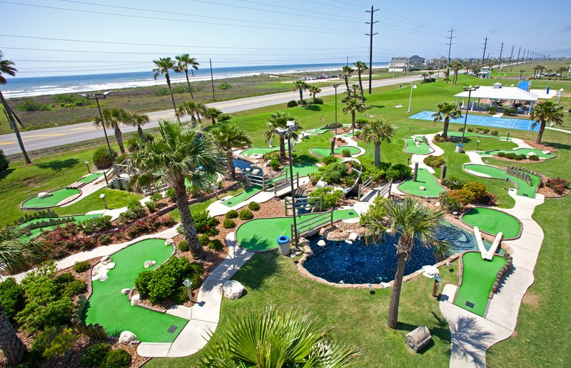 Holiday Inn Club Vacations Galveston Beach Resort-Play a round of mini golf by the ocean<br/>Image from Leonardo