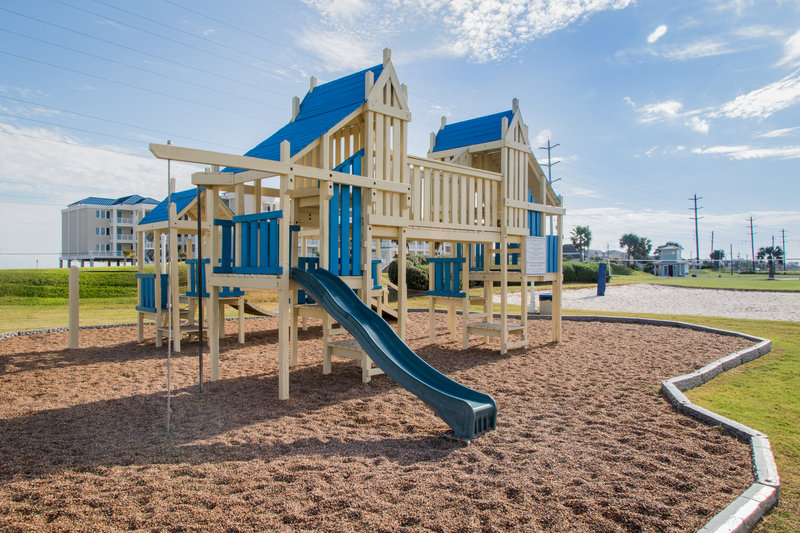 Holiday Inn Club Vacations Galveston Beach Resort-Outdoor playground for children to spend hours of fun<br/>Image from Leonardo
