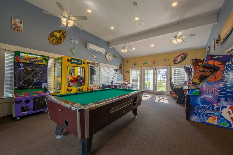 Holiday Inn Club Vacations Galveston Beach Resort-Game room fun for the whole family to enjoy<br/>Image from Leonardo