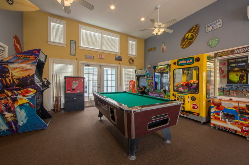 Holiday Inn Club Vacations Galveston Beach Resort-Have fun in the game room with arcades and pool<br/>Image from Leonardo